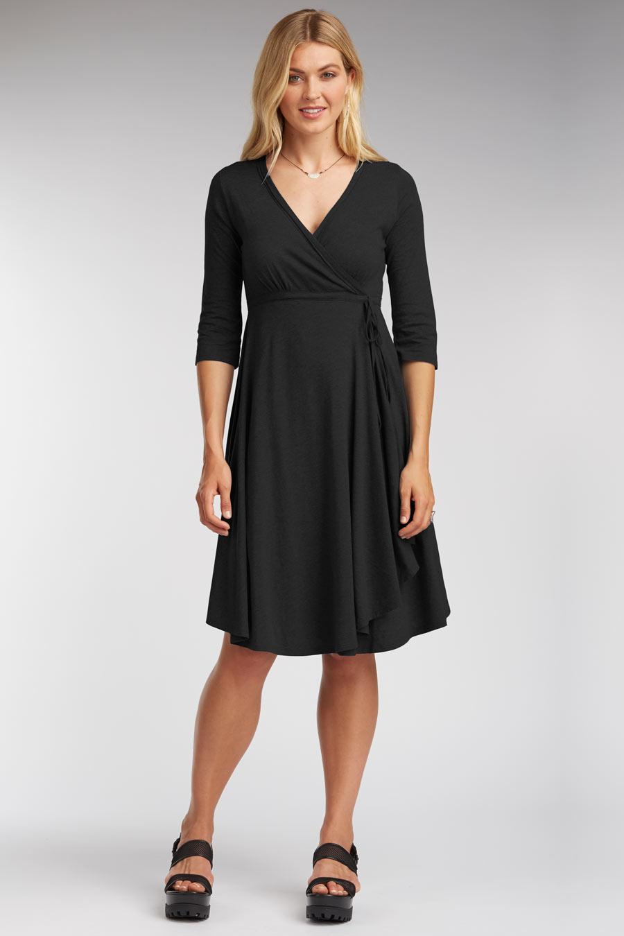 cb36aeb6c411c4 Classic Wrap Dress — O O L O O P