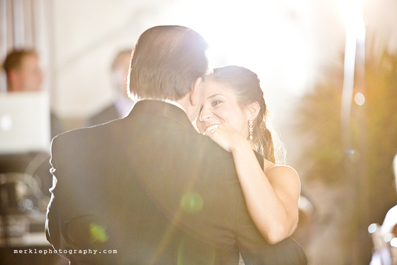 Father and daughter dance at Baltimore Grand Venue wedding