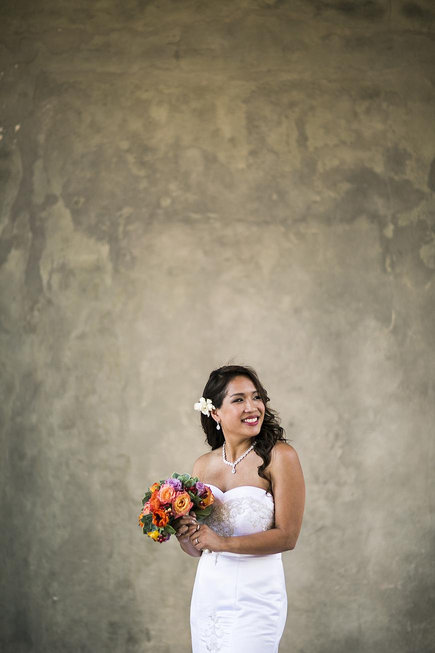 Bridal portrait at Lake Como wedding