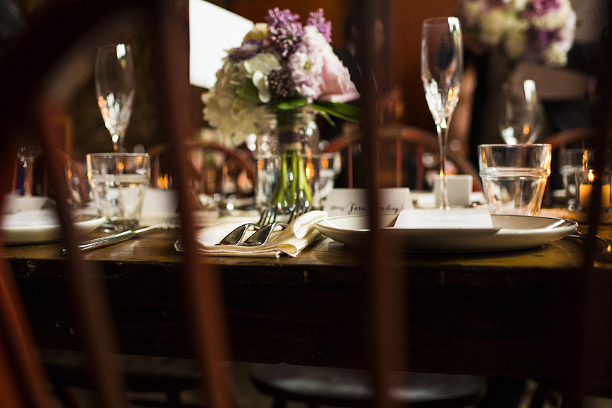 Woodberry Kitchen wedding details, Baltimore, Maryland