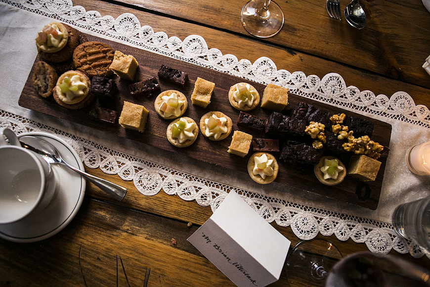 Hor d'oeuvres at Woodberry Kitchen Wedding, Baltimore, Maryland