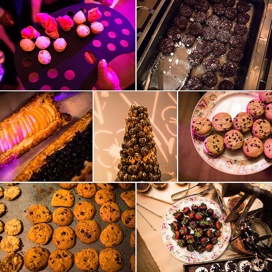 Desserts at AVAM Wedding in Baltimore