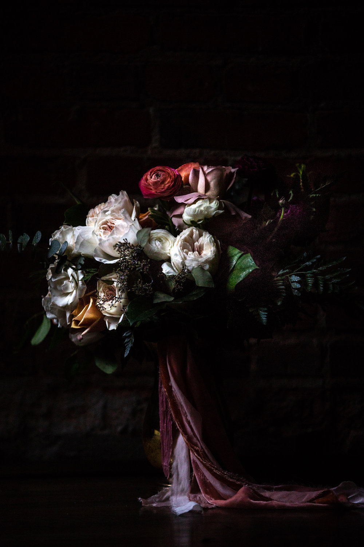 Wedding Flower Bouquet in Natural Light