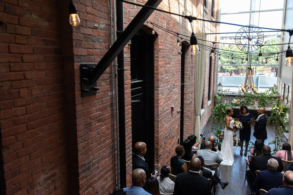 Wedding at Tagliata Restaurant Baltimore Maryland
