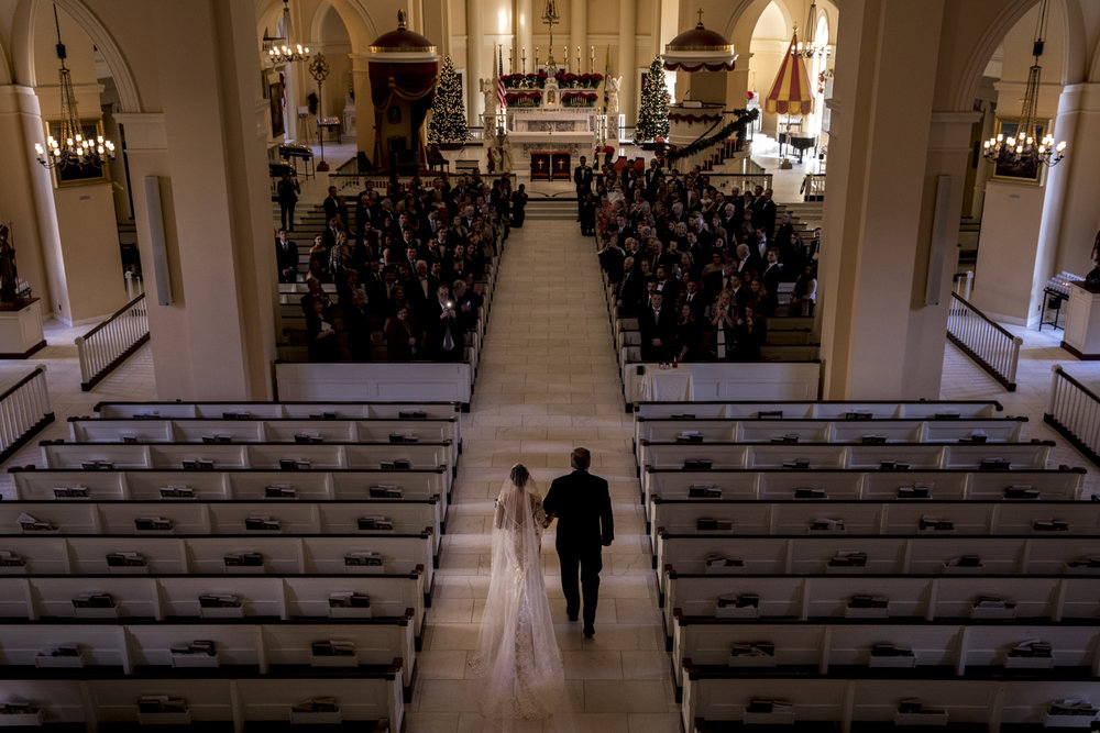 Wedding at the Baltimore Basilica