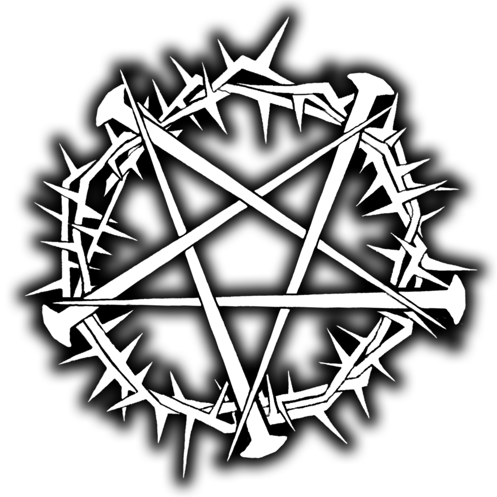 """THORNAGRAM"" LOGO DESIGN BY KENDALL DIVOLL  ©COPYRIGHT NECRONOMICHRIST"