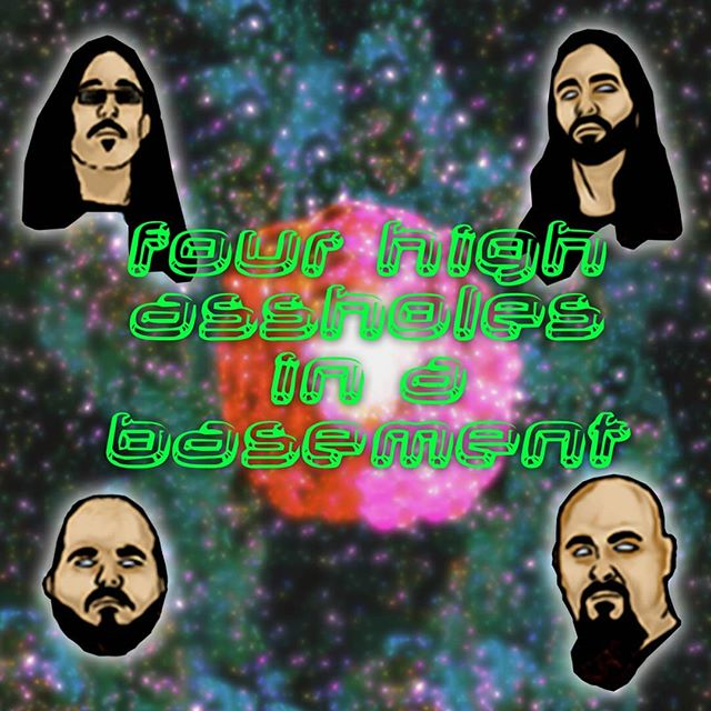 FOUR HIGH ASSHOLES IN A BASEMENT podcast is officially out! We've been pretty quiet as of late, but rest assured we've been hard at work on the EP, and we decided to start a weekly podcast to share all the very important conversations we have with our Dissolute friends. Click the link in our IG bio or go to Necronomichrist.com/podcast and listen/download Episode 1: Tract Awareness now for free! It'll be coming soon to iTunes, Google play, YouTube, and everywhere else, but we didn't wanna wait any longer so here it is.  Episode 2 coming this week!! #Necronomichrist #podcast #FourHighAssholesInABasement #comedy #metal #Dissolute