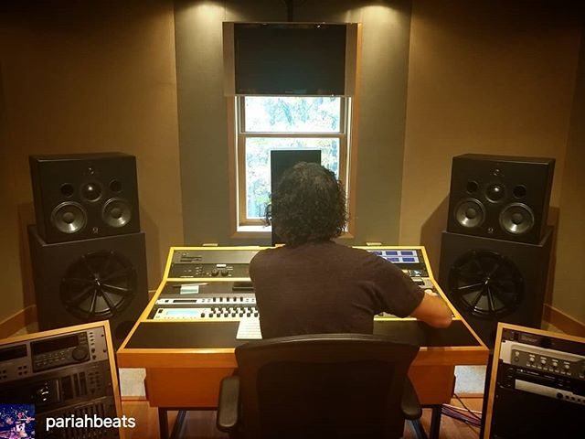 Pariah is in the mastering studio finishing our new EP! NEW MUSIC COMING SOON **repost from @pariahbeats ** In the mastering studio watching Jay Frigoletto work his magic with the new Necronomichrist EP! I can't wait to get this out. This record is everything I have always wanted from my band and I'm so proud of the guys for everything we've become.  @pariahbeats @jayfrigoletto #Necronomichrist #extrememetal #progressivemetal #Pariah #PariahIX #Pariahbeats #NinthOrderProductions #Mastersuite #mastering #undergroundmetal #audioproduction #studio #Dissolute - #regrann