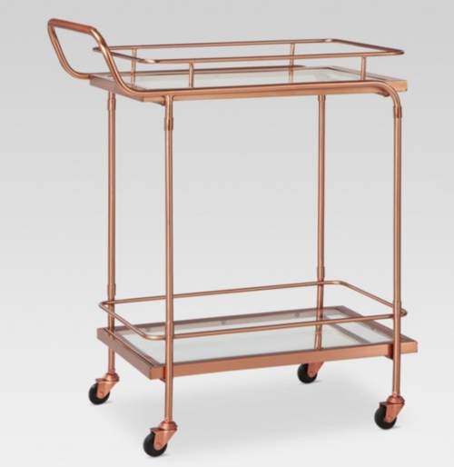 rose gold bar cart - Rose Gold Bar Cart