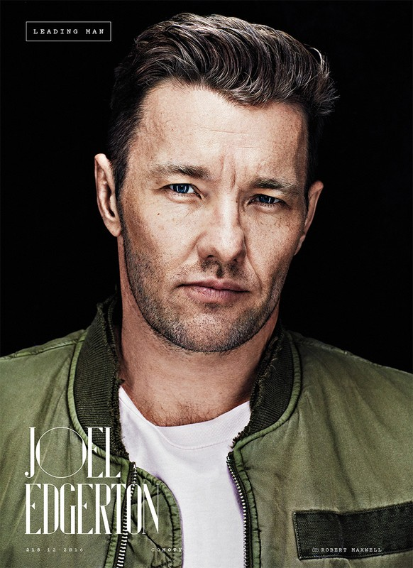 Joel Edgerton for GQ