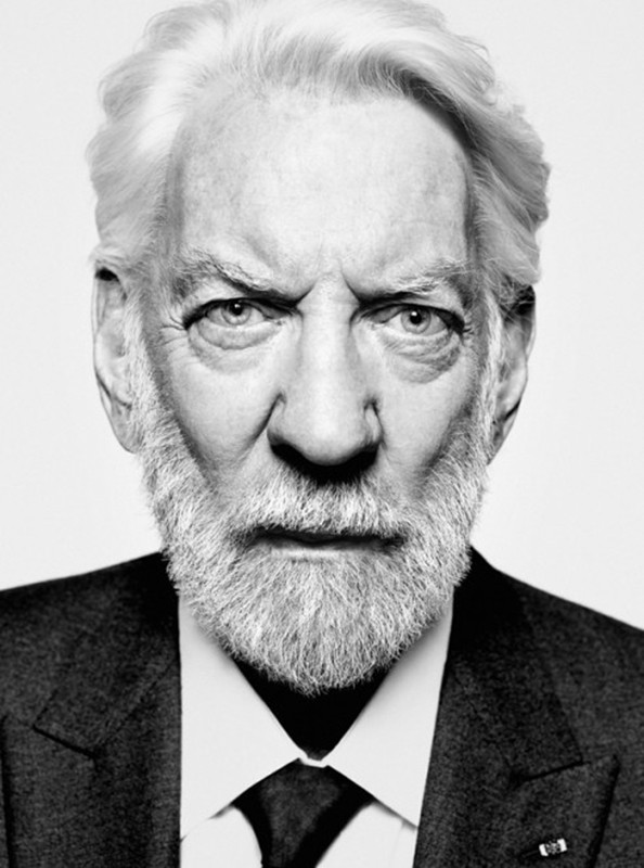 Donald Sutherland for GQ