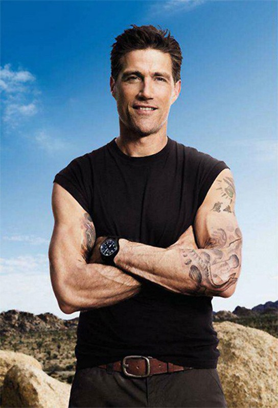 Matthew Fox for Men's Health