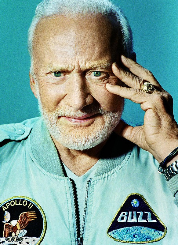 Buzz Aldrin for GQ