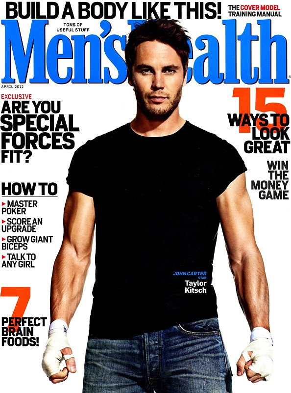 Taylor Kitsch for Men's Health