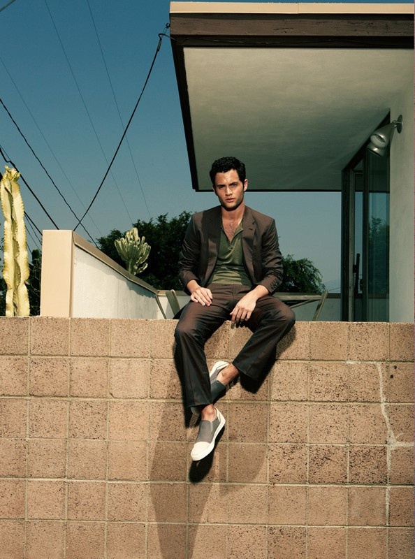 Penn Badgley for GQ