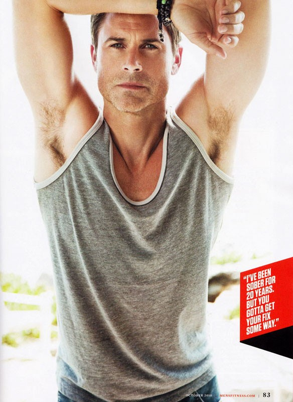 Rob Lowe for Men's Health