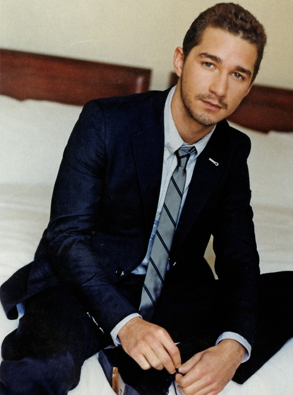 Shia LaBeouf for In Style