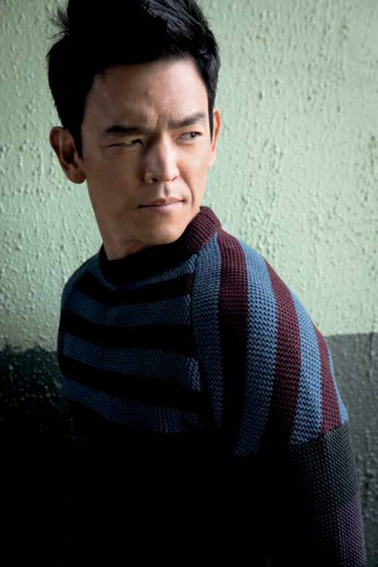 John Cho for August Man