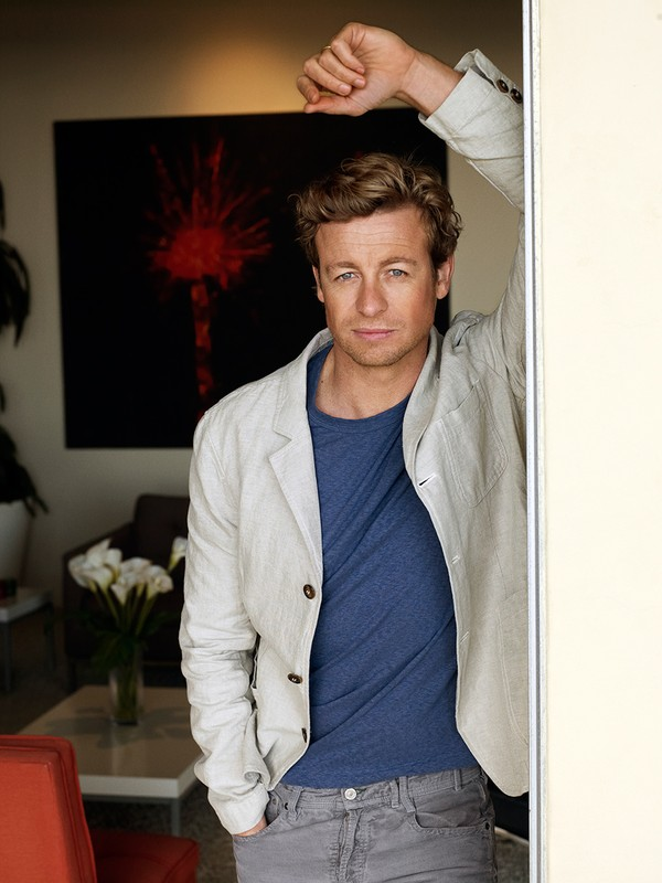 Simon Baker for TV Guide