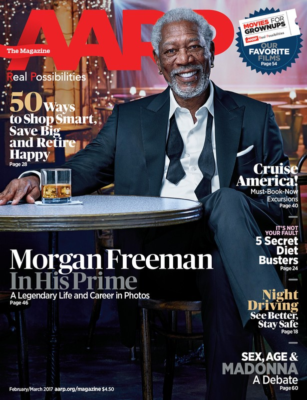 Morgan Freeman for AARP