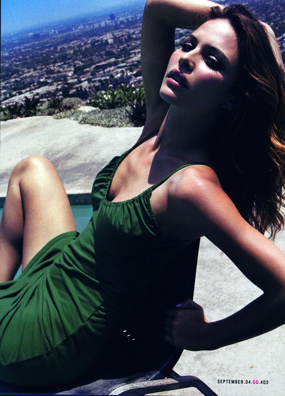 Josie Maran for GQ