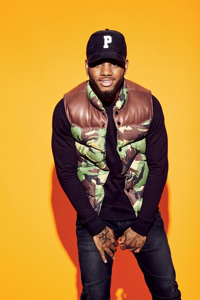 Bryson Tiller for GQ