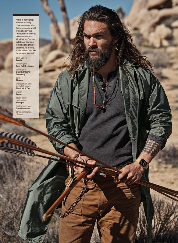 Jason Momoa for GQ