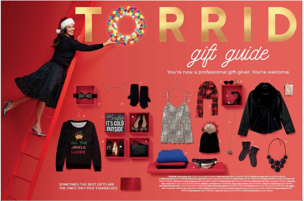 Torrid Holiday 2018