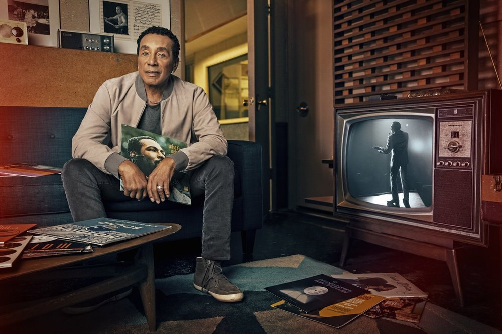 Smokey Robinson, AARP December 2018
