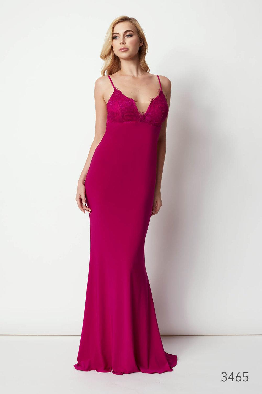 Cherri Evening Gown — Rose Noir