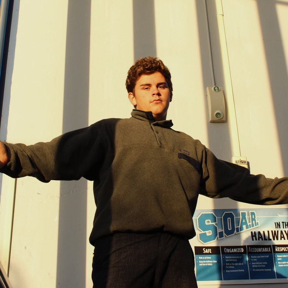 Sean    Hi, I'm Sean. I am a music director for 96.1 KJTZ. I do a phenomenal show with Emani on Mondays and Fridays from 7-8am. I am involved in Water Polo, Swimming, Diving, Band, Junior Statesmen of America and much more here at Encinal. I am taking this class because I hope to continue radio in the future as a hobby or maybe even a career. Listen to ME on Mondays and Fridays from 7-8 if you want to laugh and listen to great music.