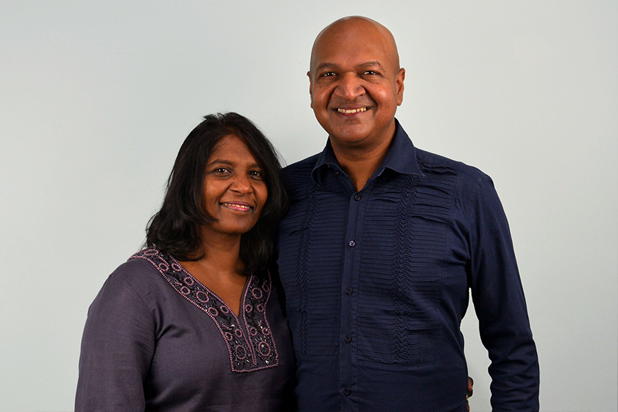 Deshan& Christine - Our Senior Pastors, Deshan and Christine Solomon have faithfully led Empowered Christian Church since 2009. During this decade our Church has seen many people dedicate their lives to God & serving His Kingdom purpose.Through their ministry God has been faithful in adding to the numbers of our Christian family and personal growth in many lives has taken place. Deshan and Christine firmly believe in equipping and releasing people into ministry and many have been empowered to serve in God's Kingdom. In their own words, they believe 'We can trust God to continue His provision in every area of our lives and God will use Empowered Christian Church to see many more come into the Kingdom'.