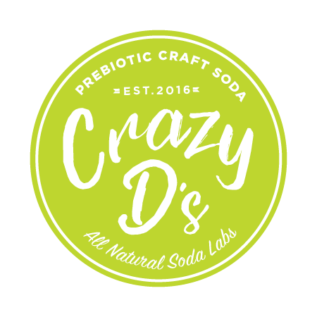 - After 3 years in the depths of his Toronto-based soda lab, the elusive Crazy D has concocted a soda that's not just better for you,it's GOOD for you. Crazy D's Prebiotic Sodas embody the fun, fizzy tasting beverages you grew up loving, but don't be confused – these are healthy beverages – definitely NOT junk food.