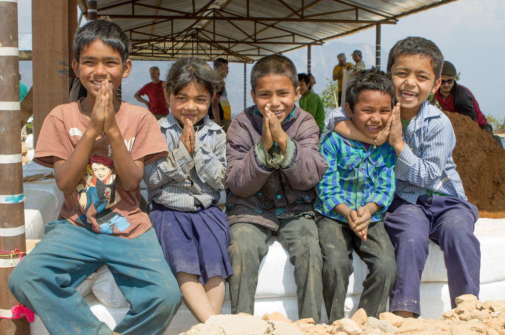 fundraise for first steps himalaya -