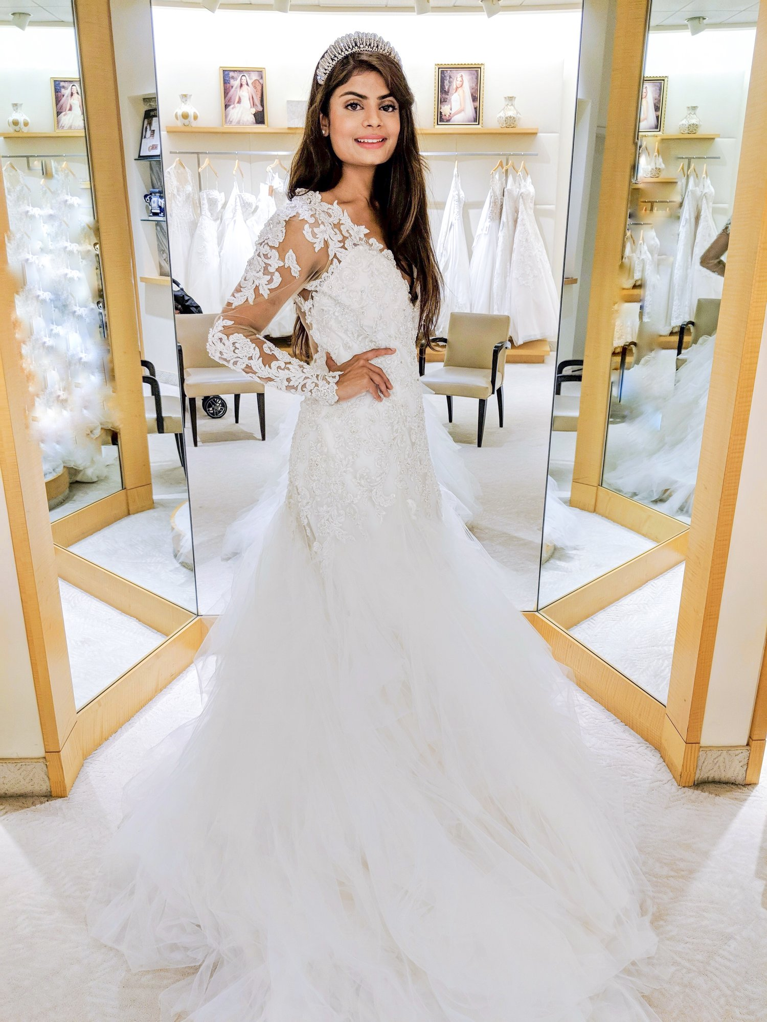 The White Wedding Dress Dream - Macy\'s Sponsored — Mariam Shibly
