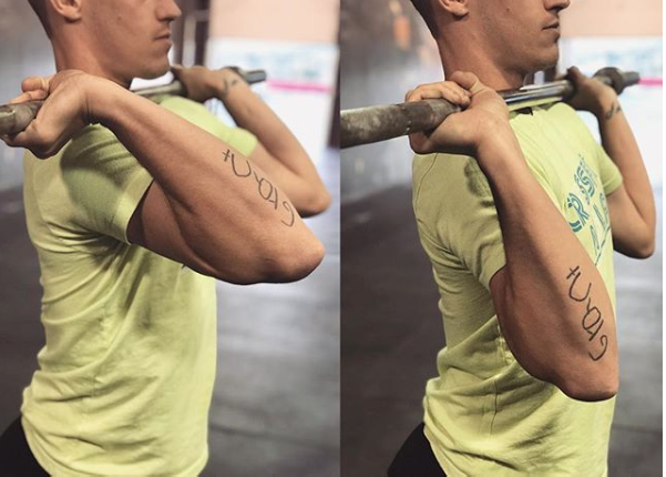 Grip Wrist Elbow Position For The Front Squat Vs The Press Elite Barbell Club