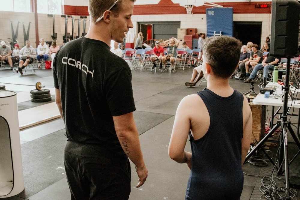$65 - Kids Weightlifting