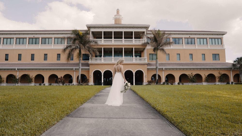 Beautiful Bride Waits For Groom in Tampa Florida.JPG