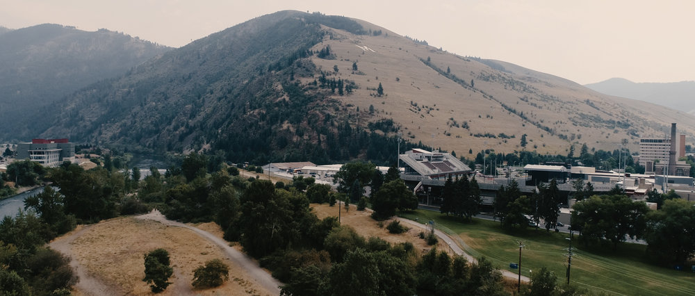 Montana Mountains Near University of Montana