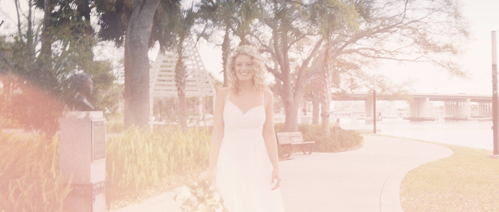 Vintage Bride Prepares for Tampa Wedding