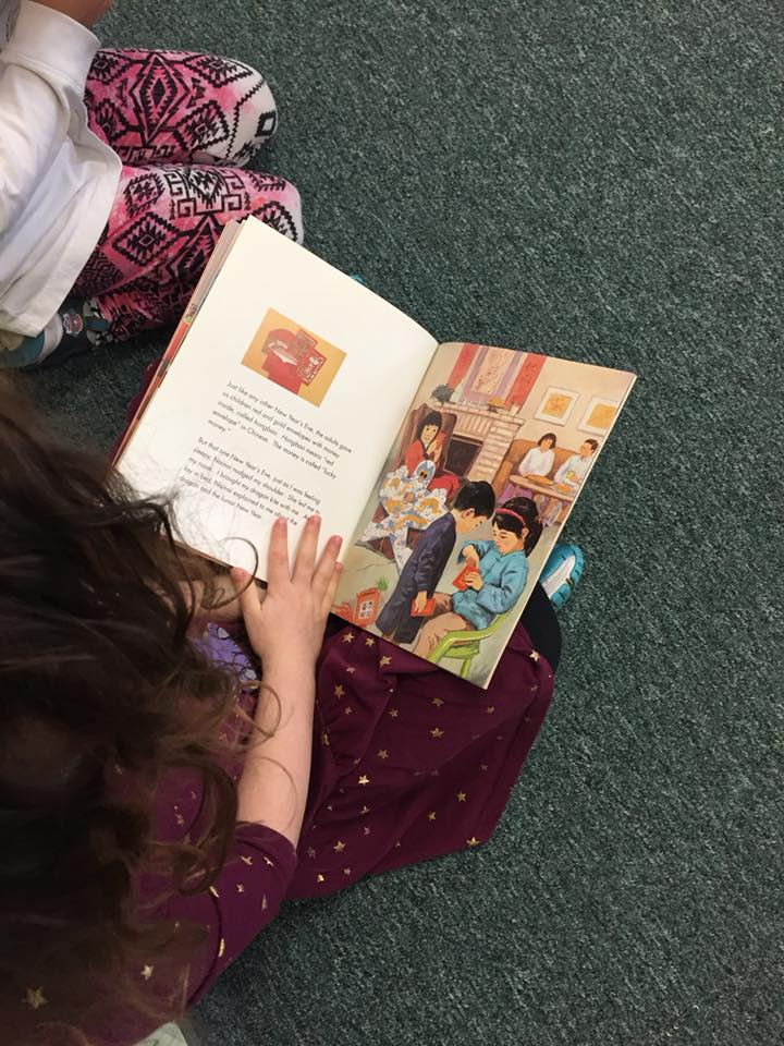 Mrs. Murray's Nursery School - Child Reading