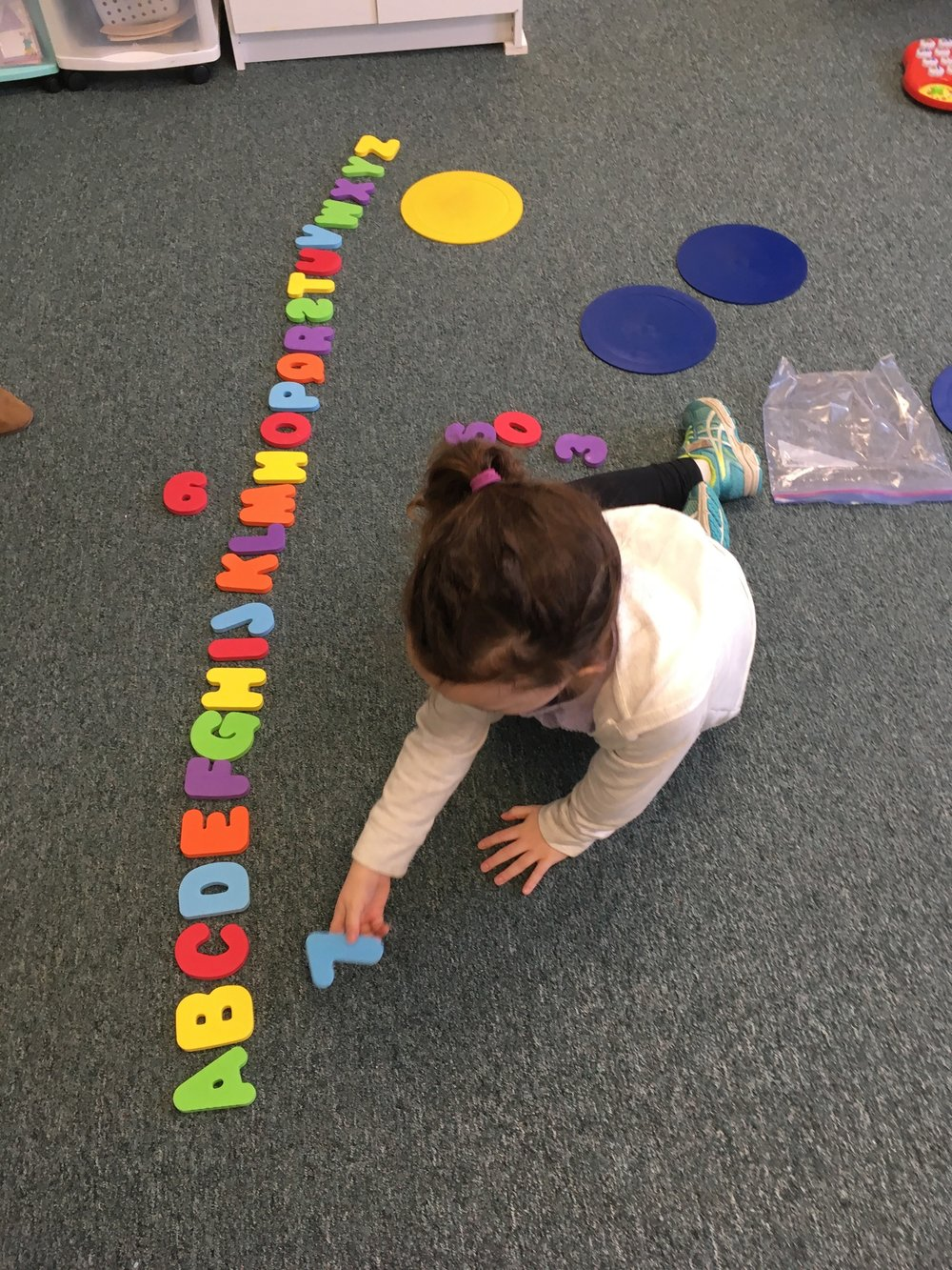 Mrs. Murray's Nursery School - Alphabet