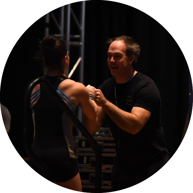 Jeff Pillars - Jeff has a USAW National Coach status and has been coaching the weightlifting since 2008. Jeff holds a masters degree in exercise physiology from Eastern Michigan University. With over 10,000 hours of Group and Private training under his belt, Jeff enjoys finding the path to success for each individual ranging from those who begin with extreme limitations to competitive athletes.