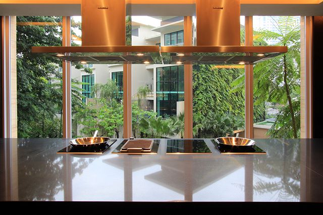 Chef Room at The Pakubuwono House . . . www.pakubuwono6.com #gourmet #chef #chefroom #food #foodies #chefs #apartemen #leisure #luxury #extraordinary #luxurylifestyle #modernkitchen #induction #kitchen #interiordesign #kitchendesign #cookerhood #minimalist #stylish #architecture #architecturedesign #interiorkitchen #architecturalphotography