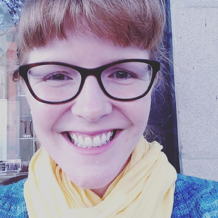 Megan Grandstaff - Megan Grandstaff is an avid seamstress and knitter who has called Chicago home for ten years. She started writing her stories down after the 2016 election, and she hasn't been able to shut up since.