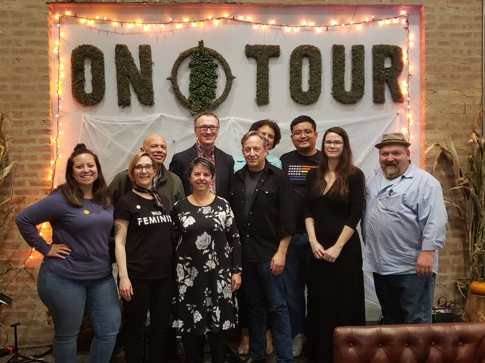 From left: Dee Fuentes, Christina Brandon, Buddy Fambro, Beatriz Badikian-Gartler, Patrick Curtin, Matthew J. Lipman, JJ Maze, Randy Kim, Stephanie Ruehl, Paul Barile.