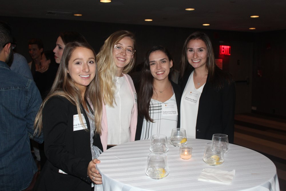 SDF students at evening event
