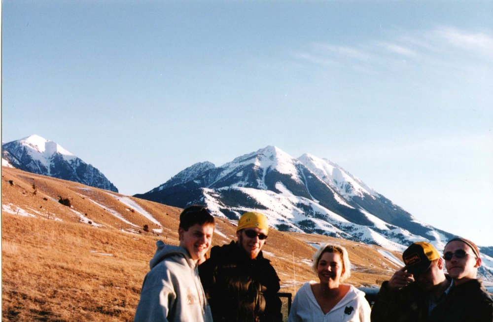 Big Sky friends – Bozeman, Montana–1998ish
