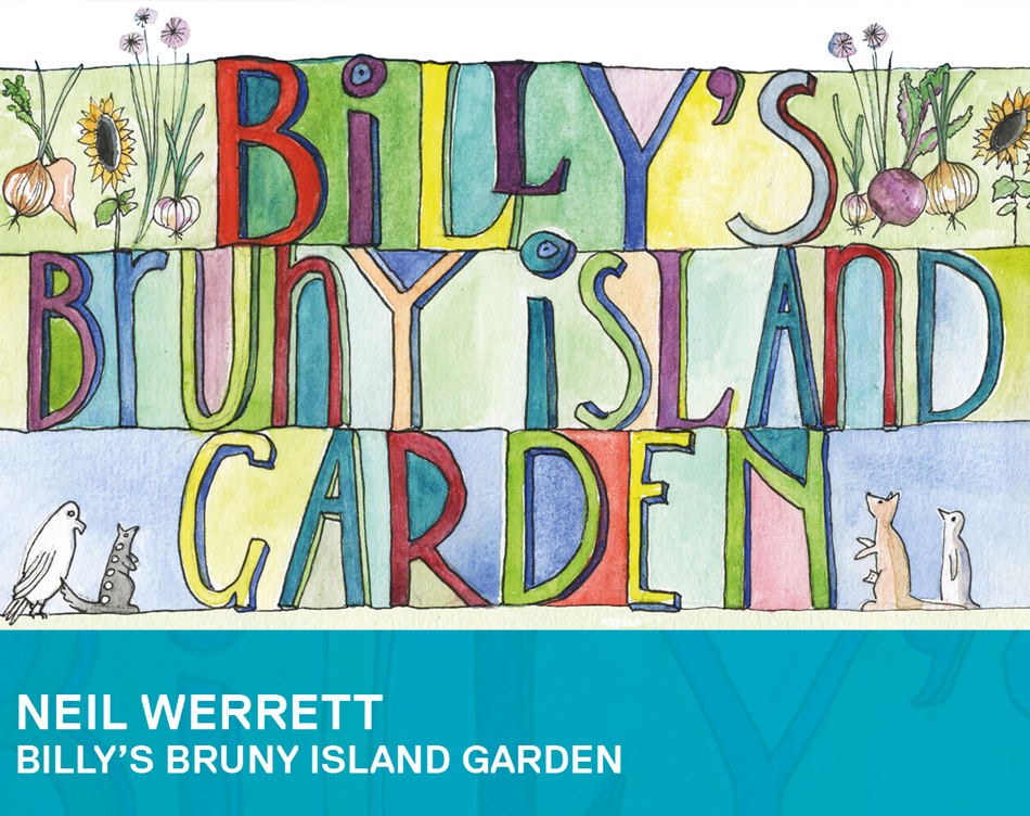 10.30 am - 12.30 pm  Woodend Library (Free Entry)  Neil Werret, the author of the delightful children's book 'Billy's Bruny Island Garden' will host this book reading and workshop at the  Woodend Library . Neil will share gardening ideas for children and families, and host a planting activity with pots, seedlings and seeds for kids take home and start their own special garden. Free session, no bookings required!