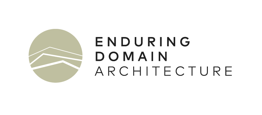 Enduring Domain Architecture   Too often in mainstream building practices nothing is designed to last, and nothing is designed to meet the challenge of climate change. Our buildings are making us sick, cost too much to heat and cool, and leave too large an environmental footprint than what can be sustained.  We believe we have a duty to create homes and work places which will provide year-round comfort, healthy indoor air quality and will make us feel inspired and hopeful. Most importantly we will leave a legacy of buildings that we create now which will be valued and as relevant then as they are today.  Creating Future Heritage. That's what we do.